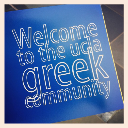 UCLA - greek community