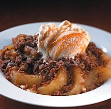 Hard Rock Café - Fresh Apple Cobbler
