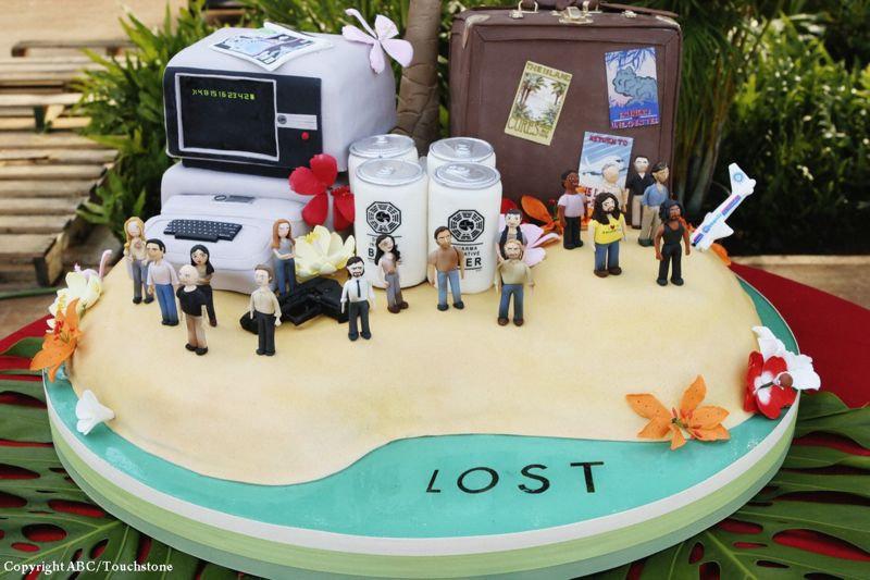 Lost - gâteau 100ème épisode