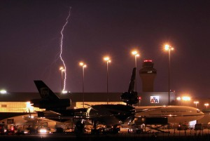 Orage aéroport - DFW
