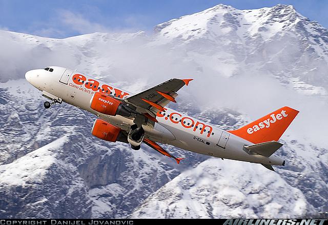 easyJet (A319) - Innsbruck, Autriche