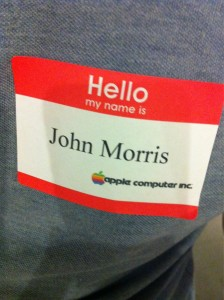 Hello my name is John Morris