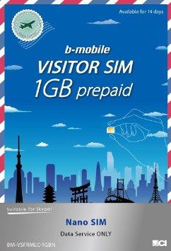 B-Mobile - SIM visiteur