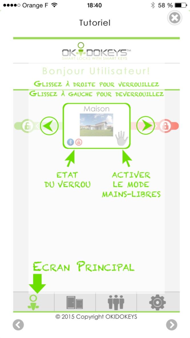 Okidokeys - iOS app